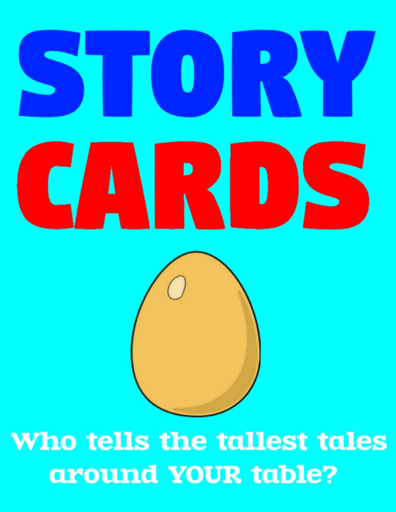 Cover of a deck of Story Cards.